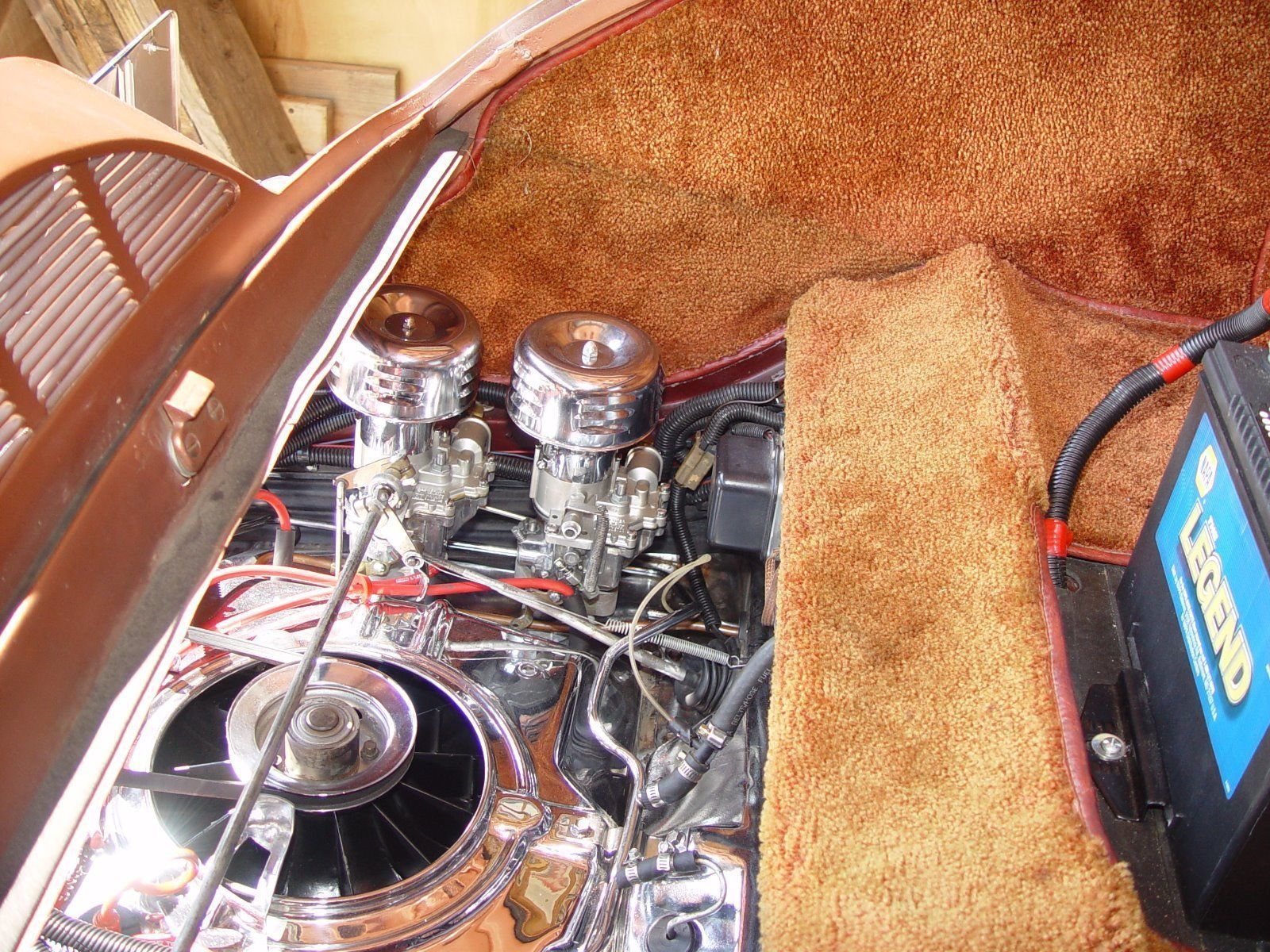 rear engine corvair 36 ford coupe