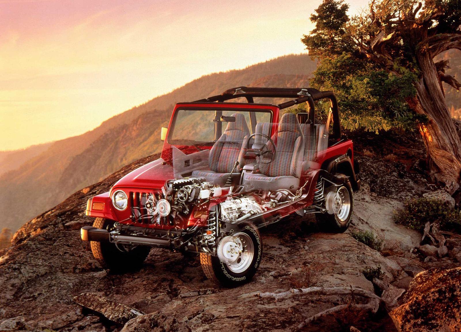 1997 Jeep Wrangler cutaway