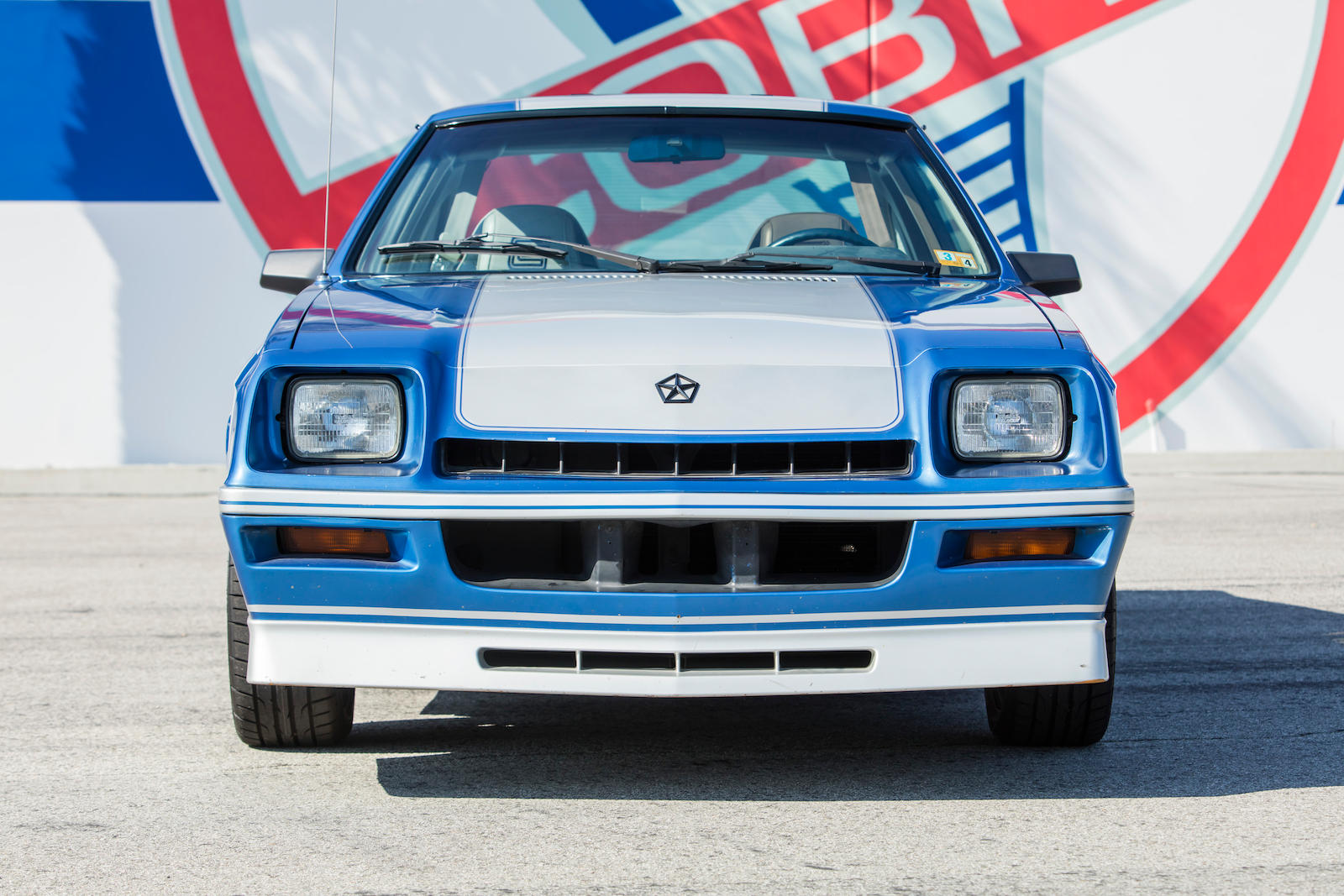 1983 Dodge Shelby Charger front clip