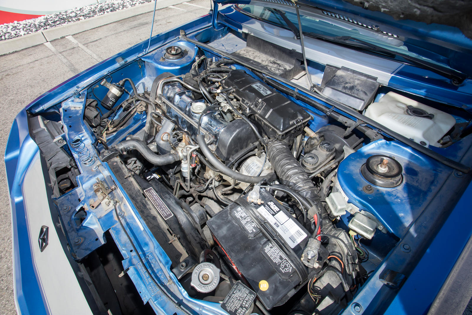 1983 Dodge Shelby Charger engine