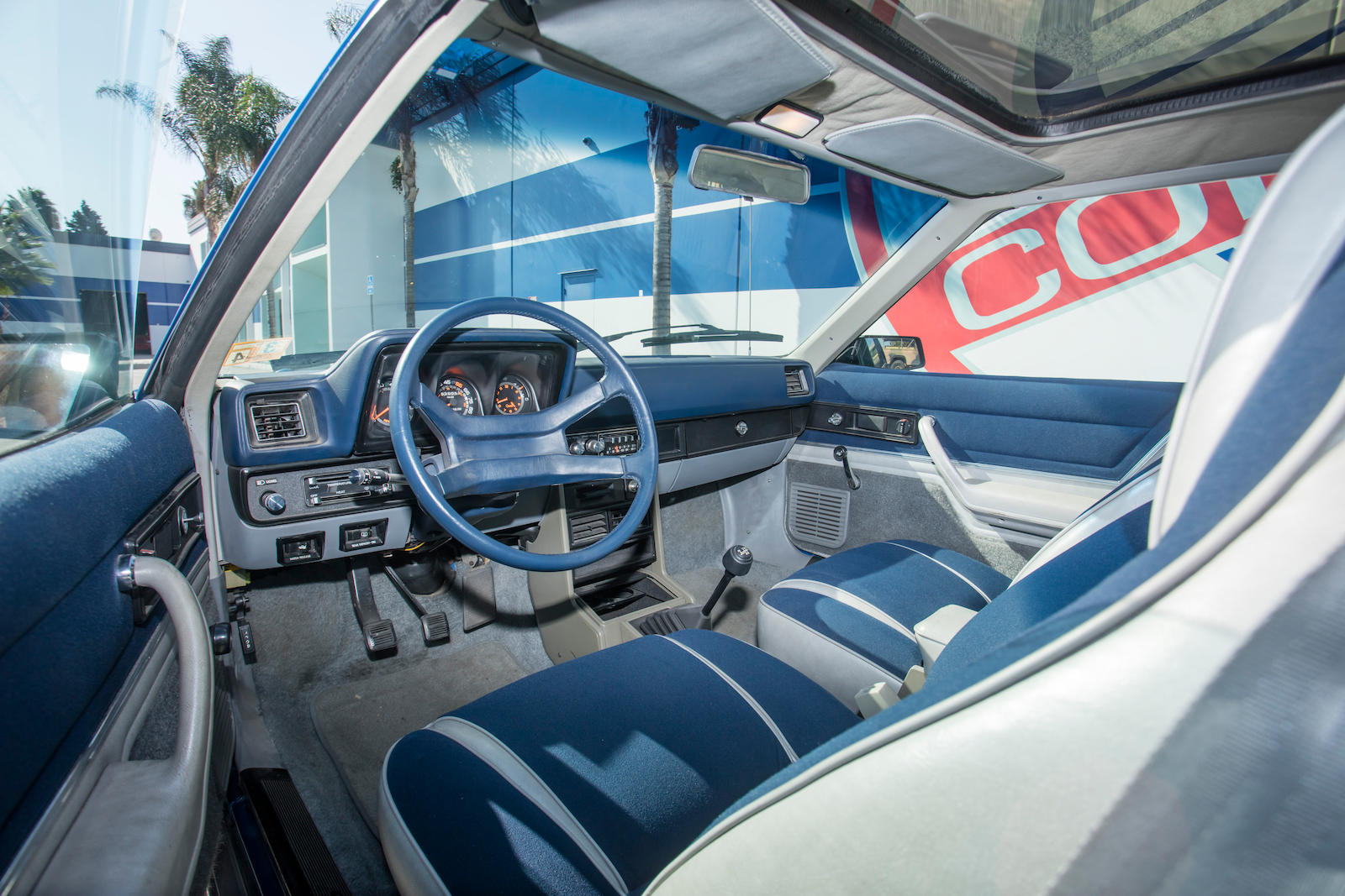 1983 Dodge Shelby Charger interior