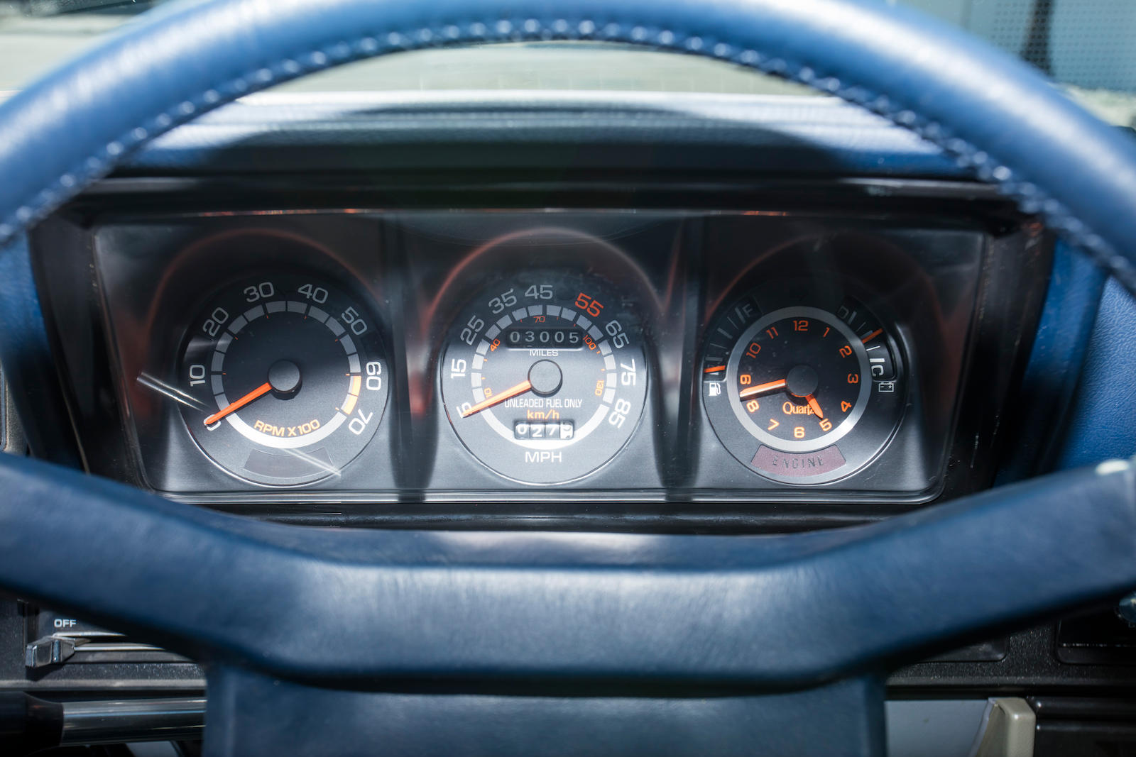 1983 Dodge Shelby Charger gauges