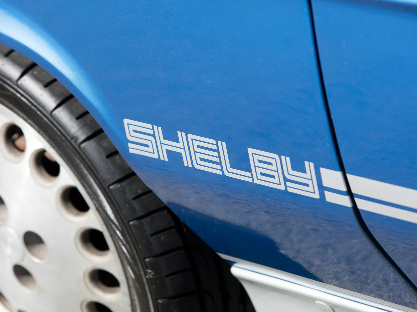 1983 Dodge Shelby Charger rear 3/4