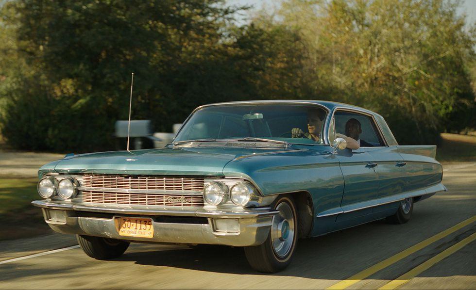 Cadillac in Green Book