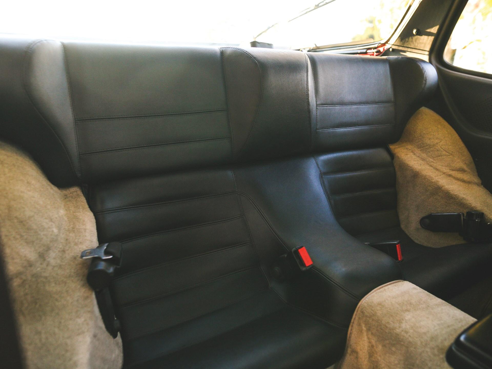 1984 Porsche 944 rear seats