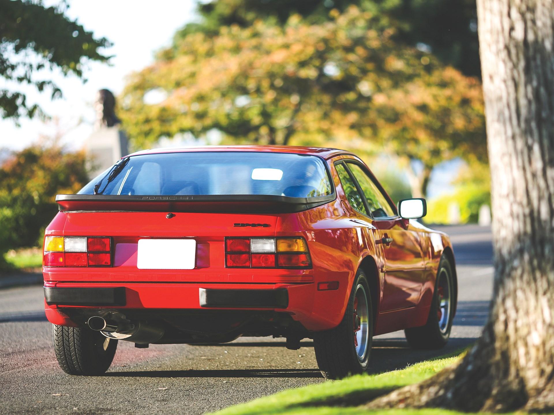 1984 Porsche 944 3/4 rear