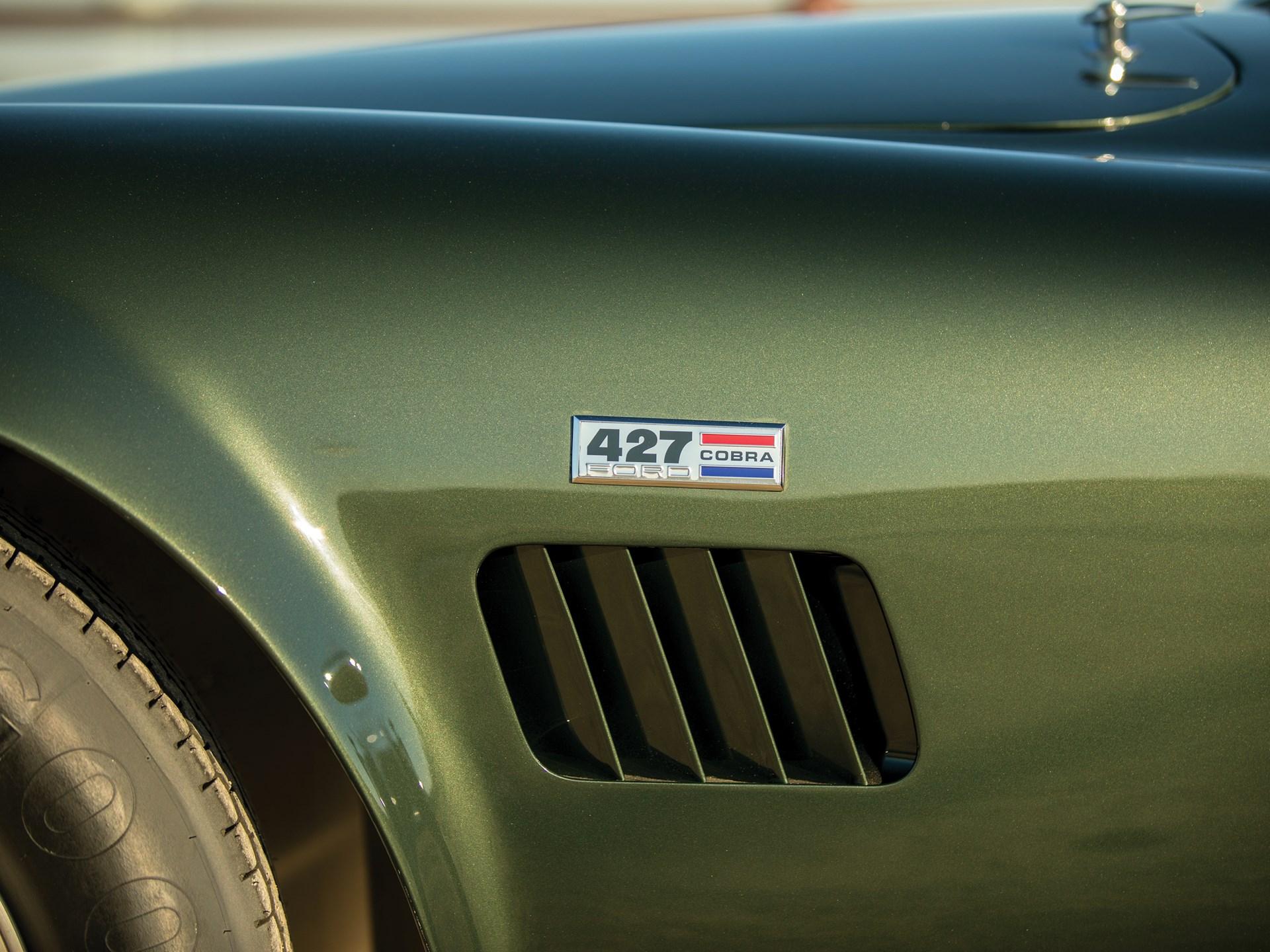 1967 Shelby 427 Cobra fender badge