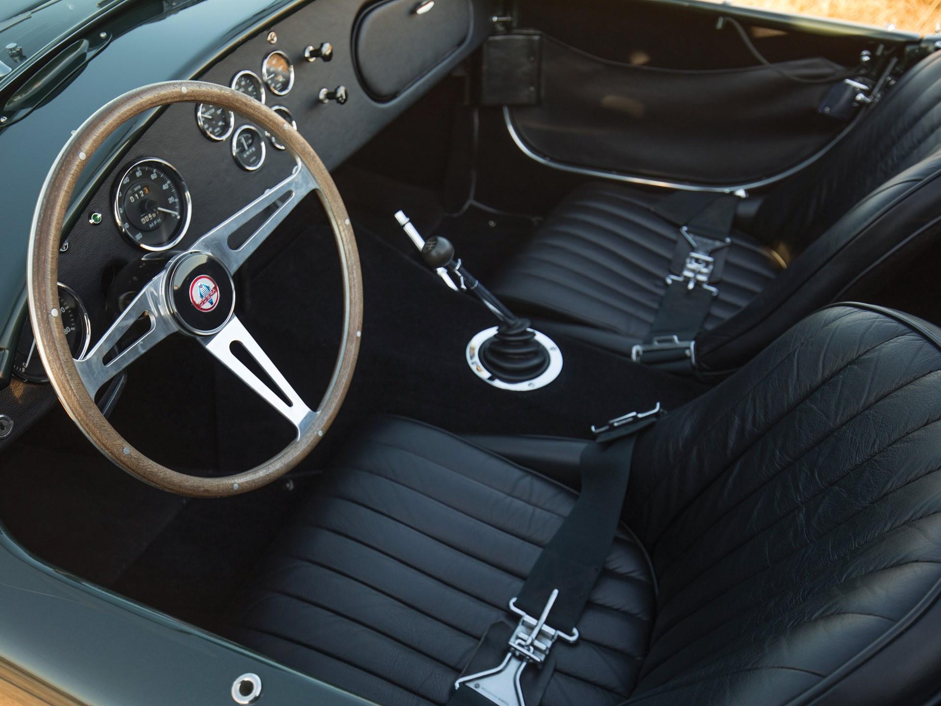 1967 Shelby 427 Cobra interior