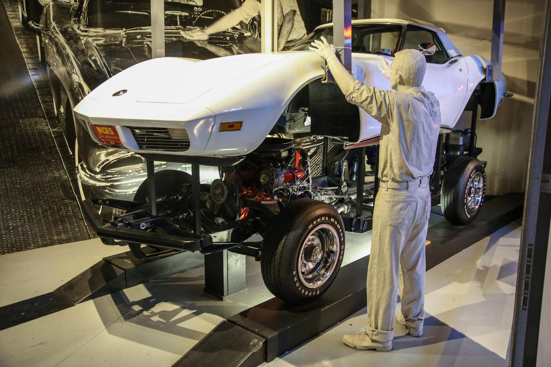 National corvette museum 1973 production line