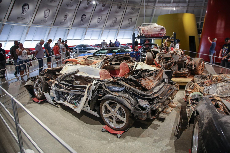 National corvette museum sink hole vettes