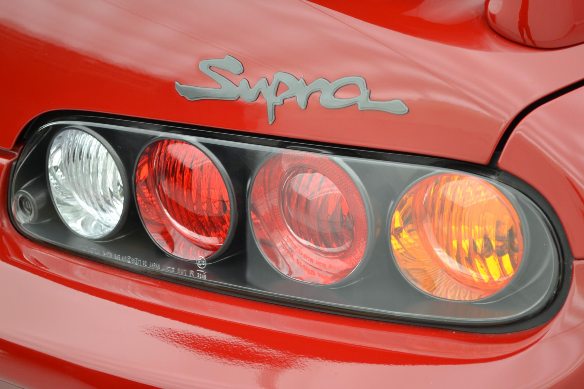 1994 Toyota Supra Twin Turbo badge