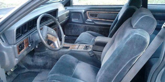 Lincoln Mark VII interior