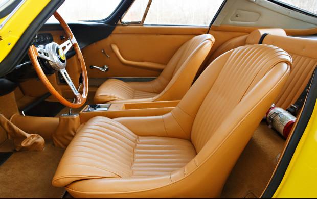 1964 Ferrari 275 GTB Prototype interior