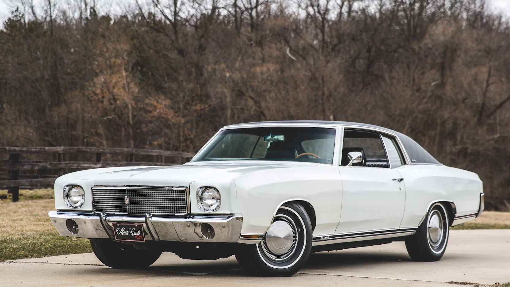 1970 Chevrolet Monte Carlo SS front 3/4
