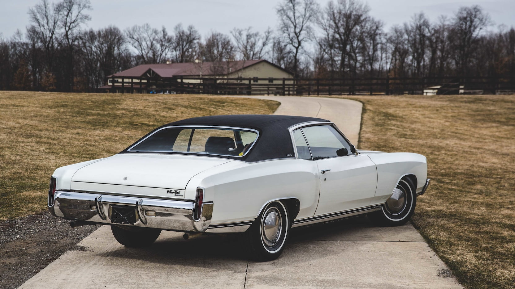 1970 Chevrolet Monte Carlo SS rear 3/4