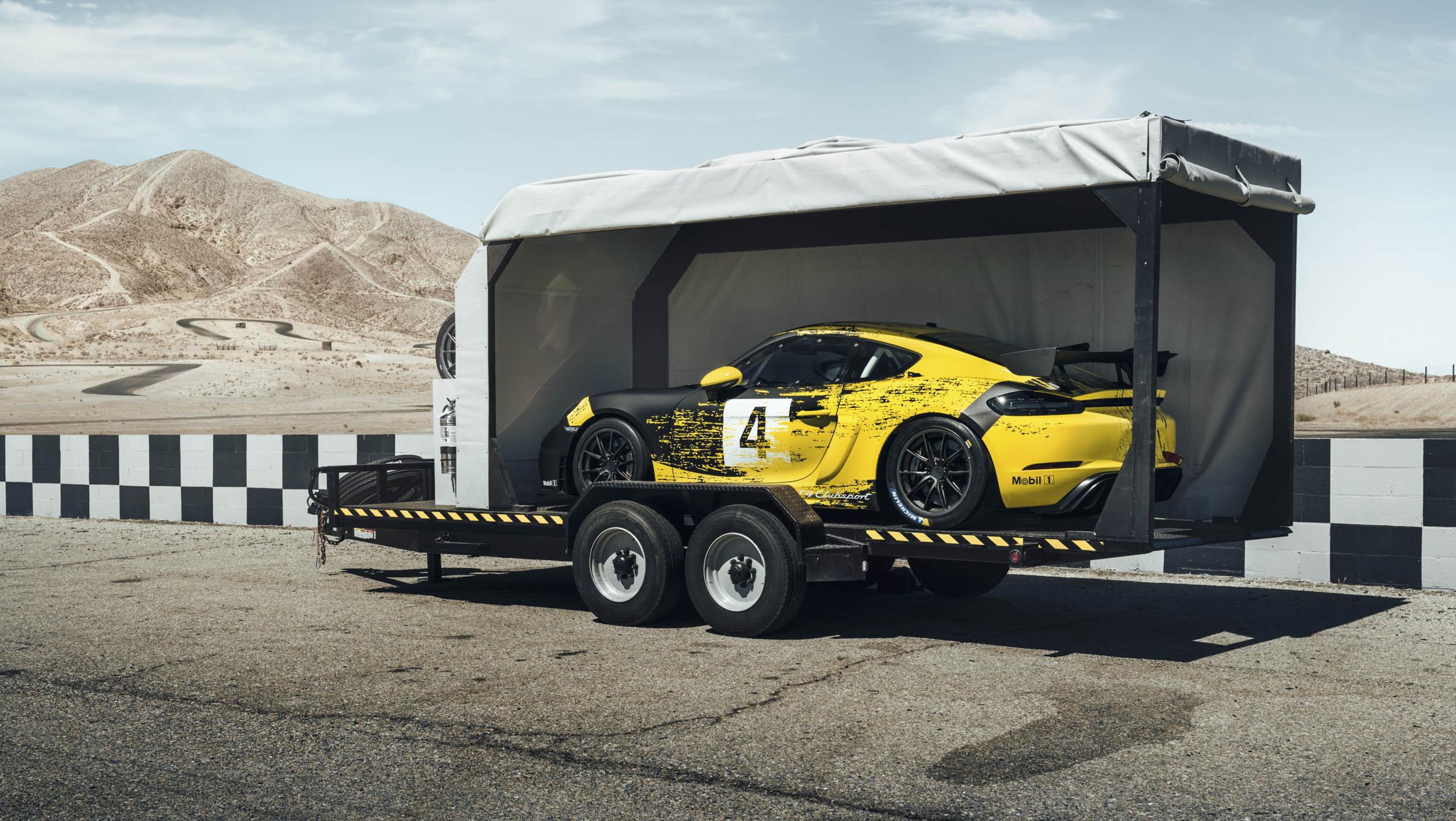 2019 Porsche 718 Cayman GT4 Clubsport shipped