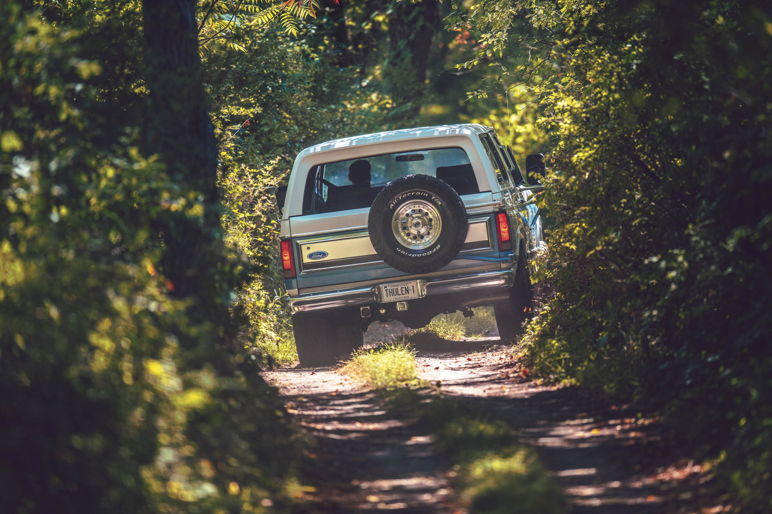 Ford Bronco on the trail