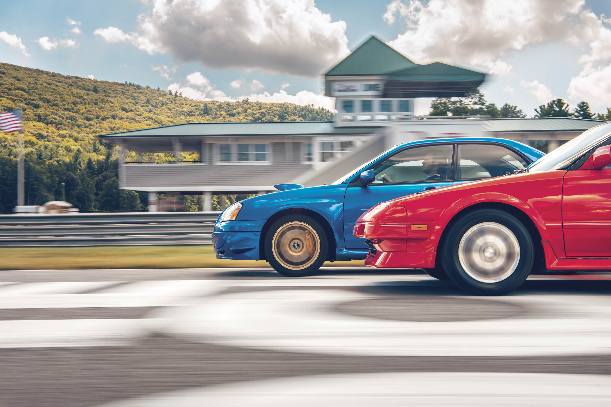 On the front straight at Lime Rock Park: Any doubt that Japanese cars have arrived on the collectible-car scene is banished by the Subaru Impreza WRX STI and Toyota MR2, two cars that pull hard on the heartstrings of the video-game generations.