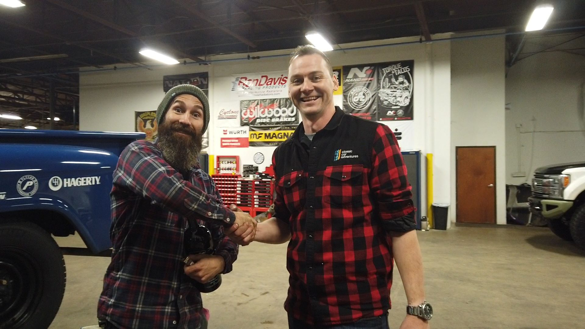 Dave Hord and Aaron Kaufman Arclight fab shifting gears