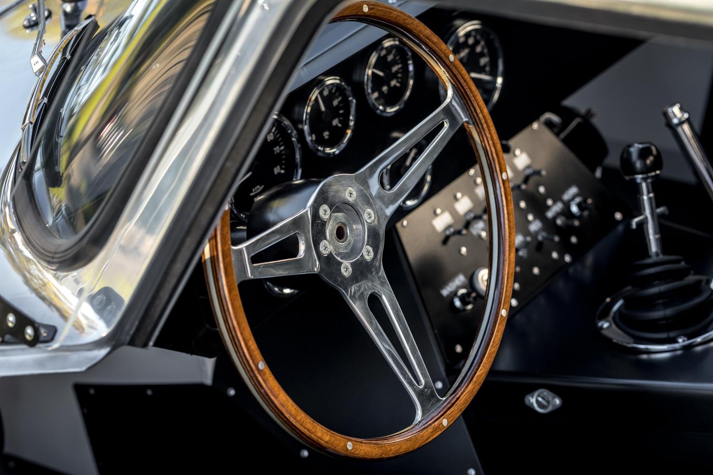 1964 Shelby Daytona Coupe replica steering wheel