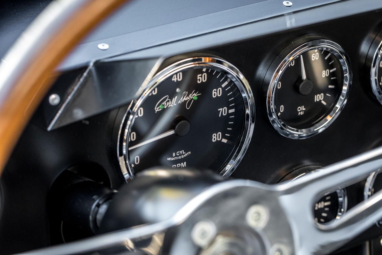 1964 Shelby Daytona Coupe replica gauges