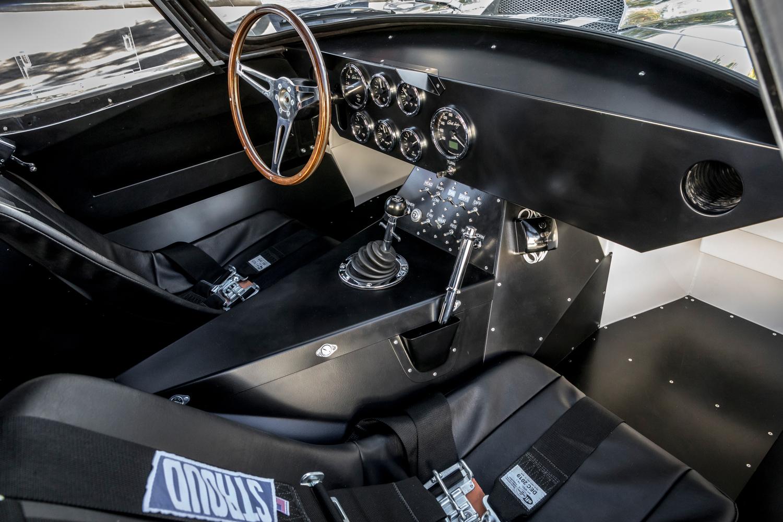 1964 Shelby Daytona Coupe replica interior