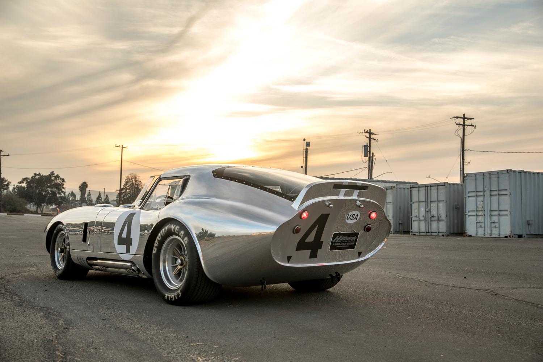 1964 Shelby Daytona Coupe replica 3/4 rear