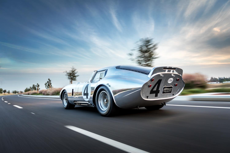 1964 Shelby Daytona Coupe replica 3/4 rear driving