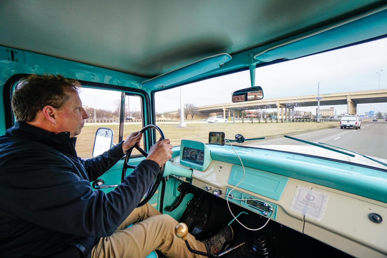 The Drive Home 1962 International Harvester Travelette on the road brad phillips