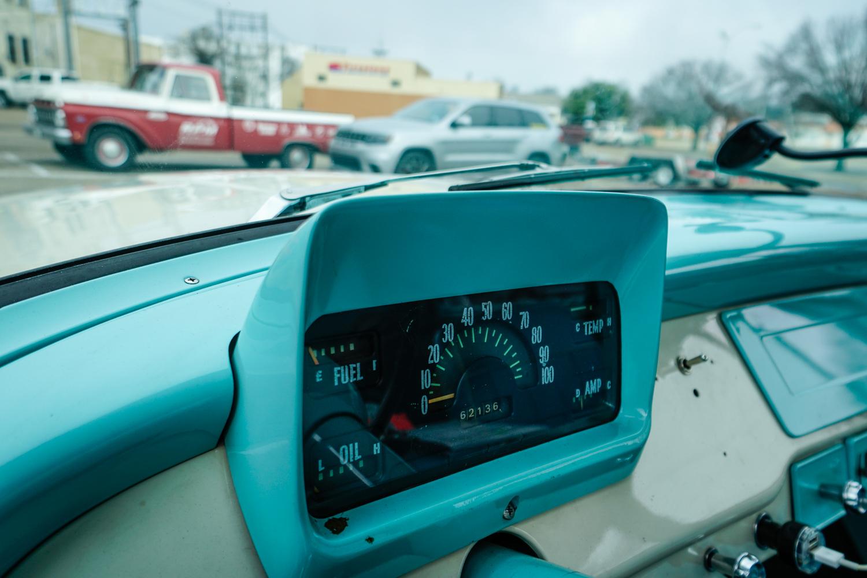 The Drive Home 1962 International Harvester Travelette gauges