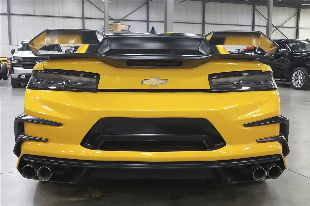 "2016 Chevrolet Camaro ""Transformers: The Last Knight"" rear"