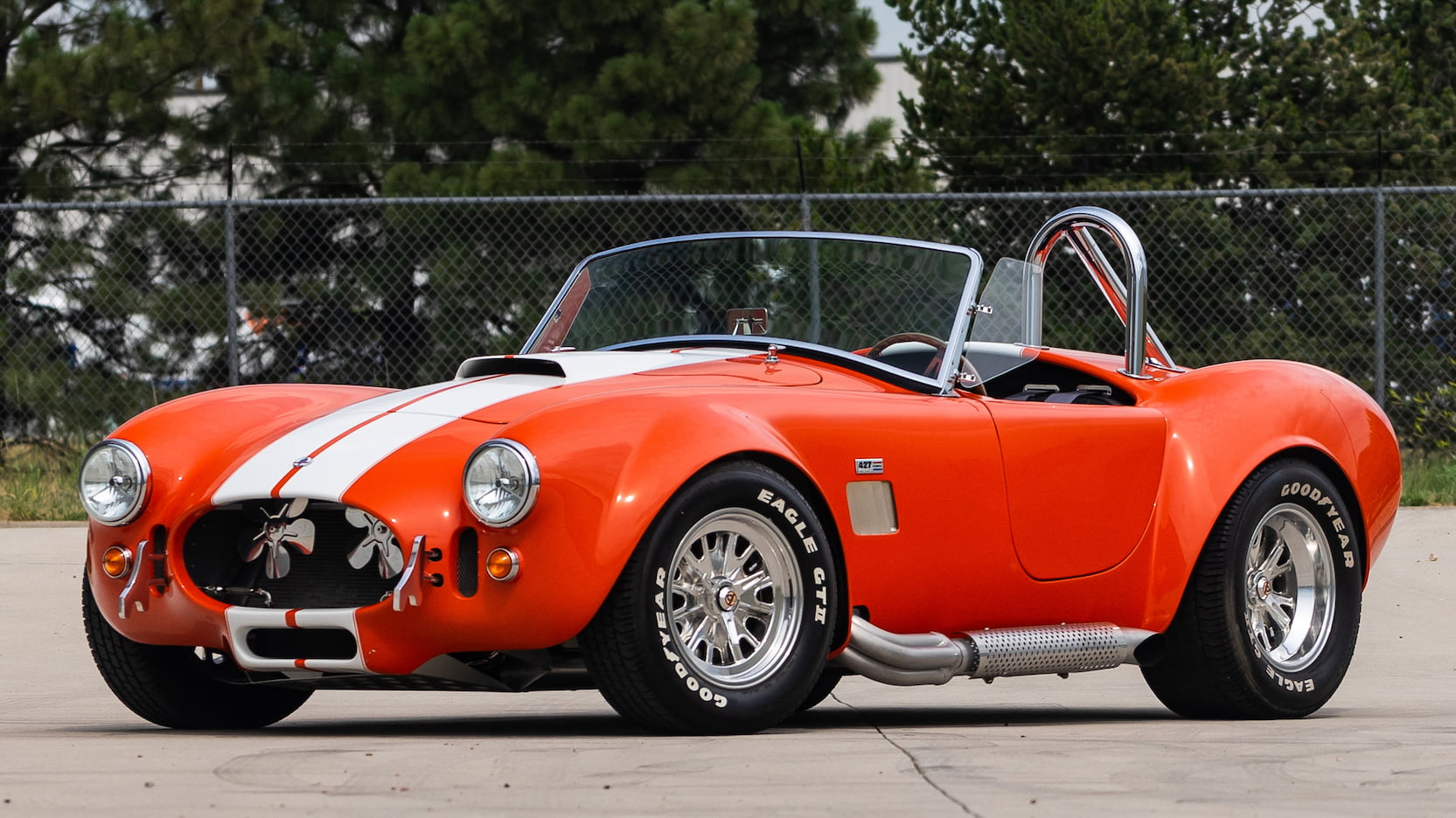 1965 shelby cobra replica front 3/4