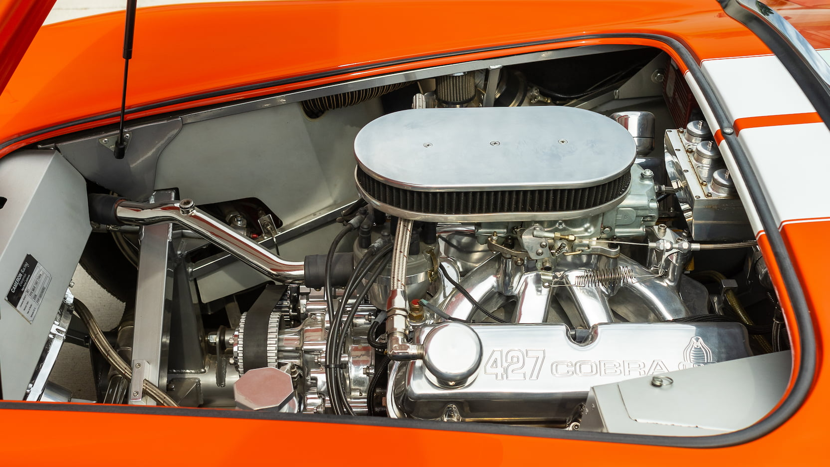 1965 shelby cobra replica engine