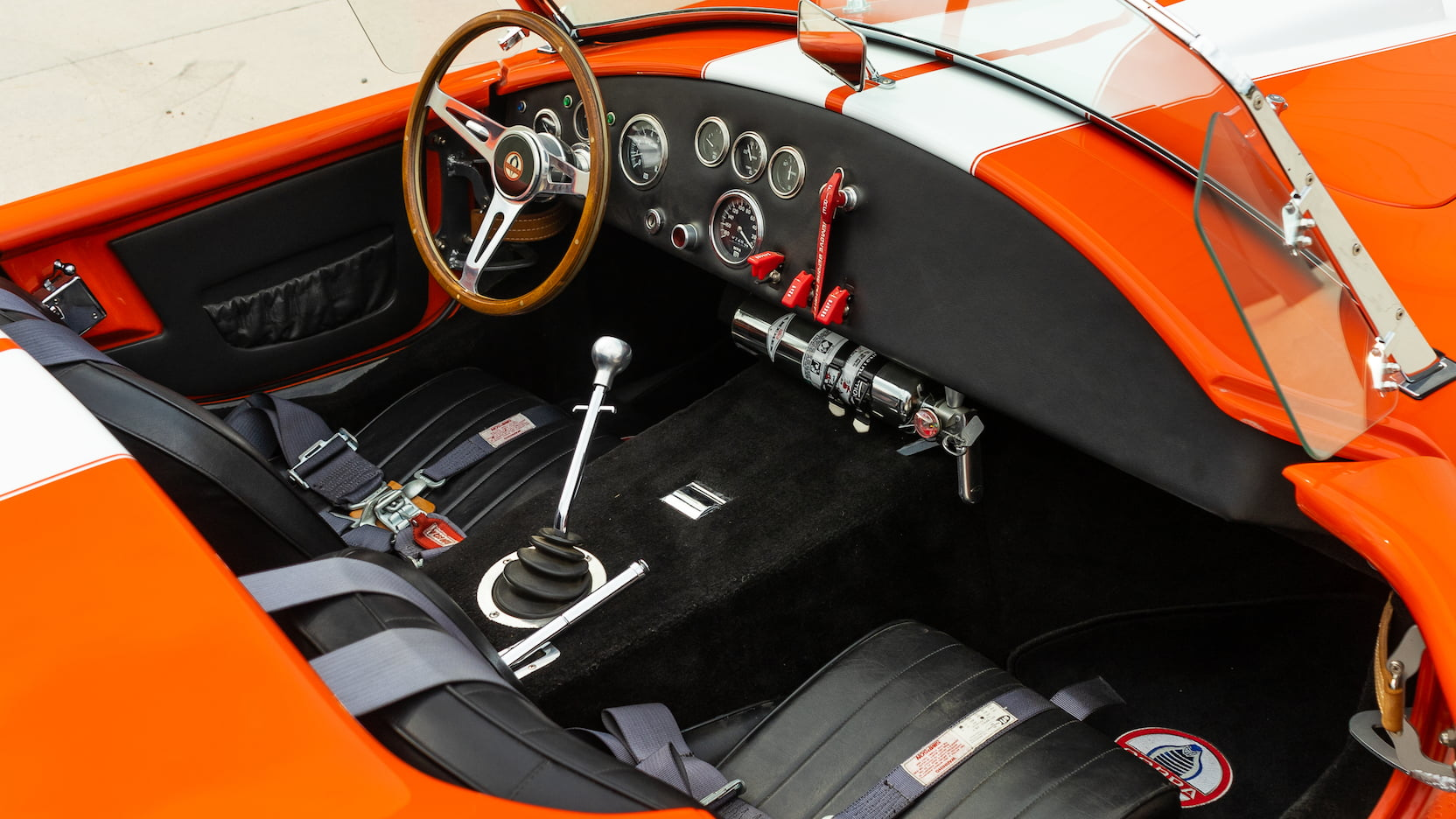 1965 shelby cobra replica interior