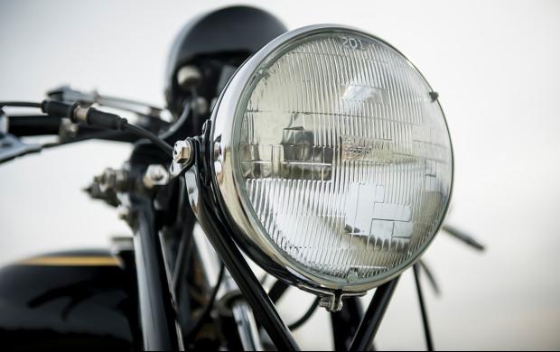 1951 Vincent Series C Black Shadow headlight