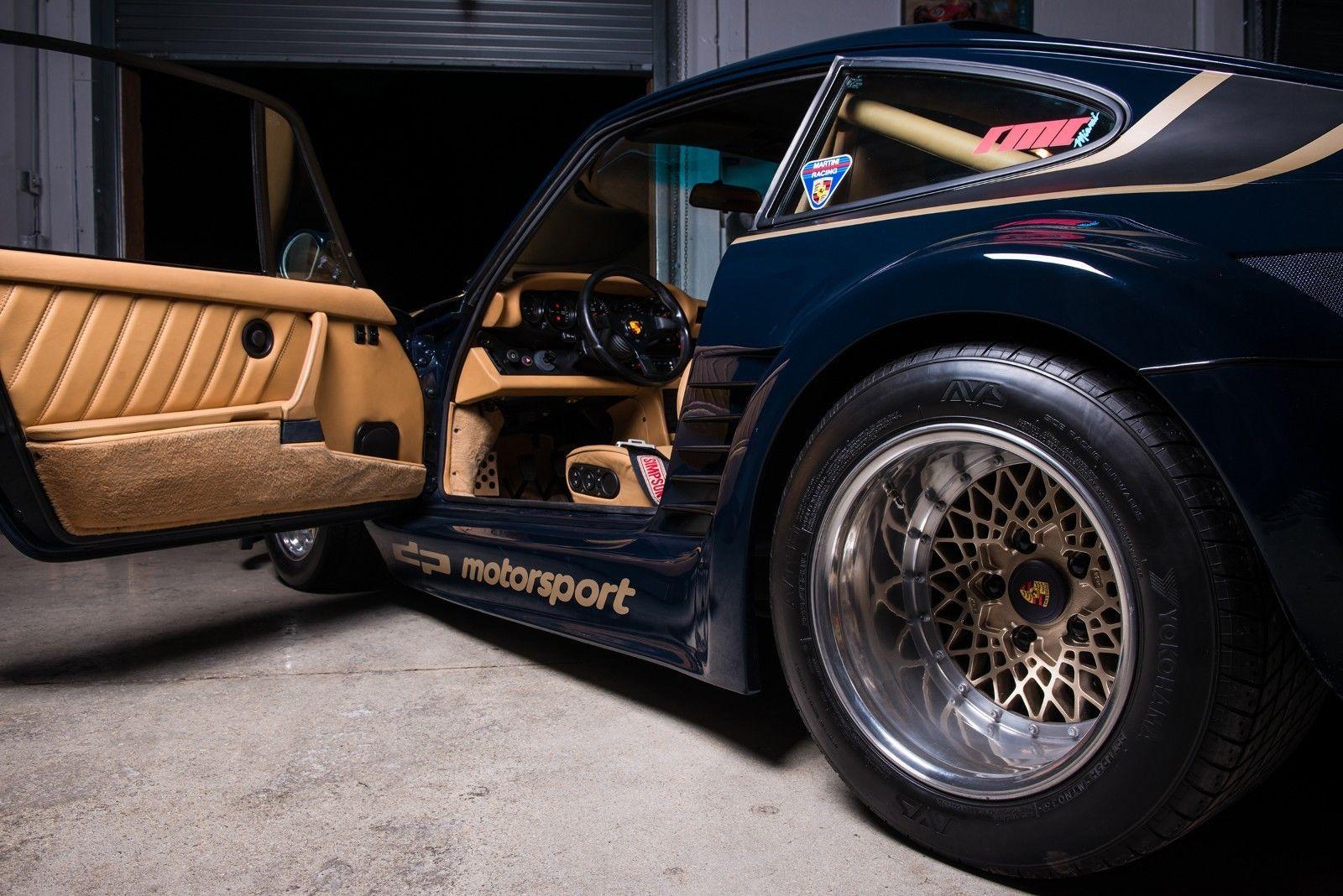 1985 Porsche 930 Turbo 935 DP Motorsports door open