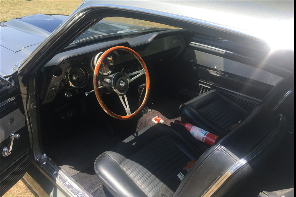 """1967 Ford Mustang """"Eleanor"""" interior"""