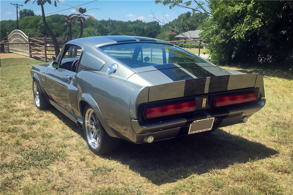"""1967 Ford Mustang """"Eleanor"""" rear 3/4"""
