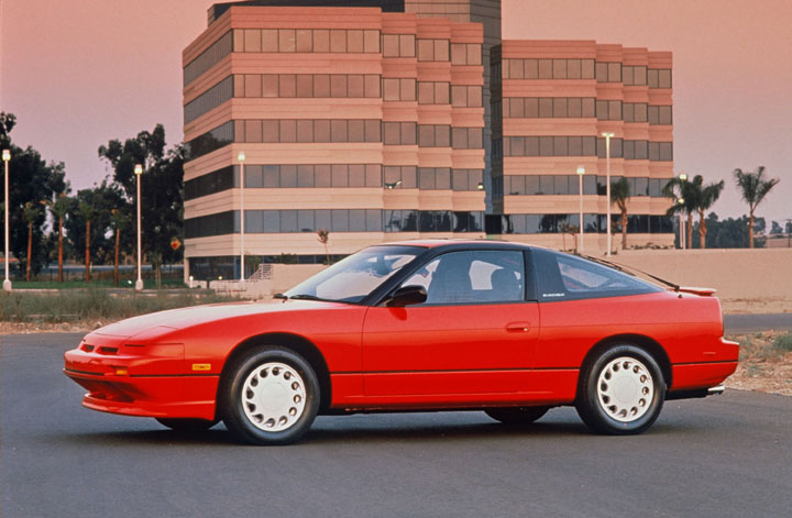 1990 Nissan 240SX side profile