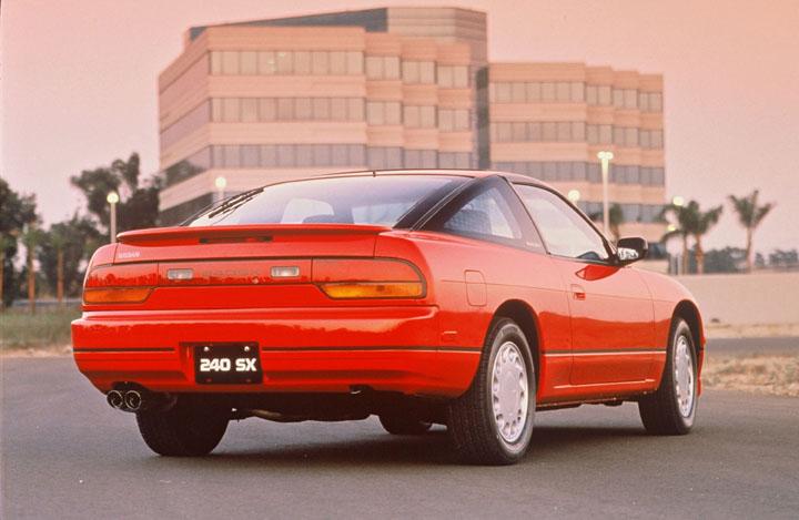 1990 Nissan 240SX 3/4 rear