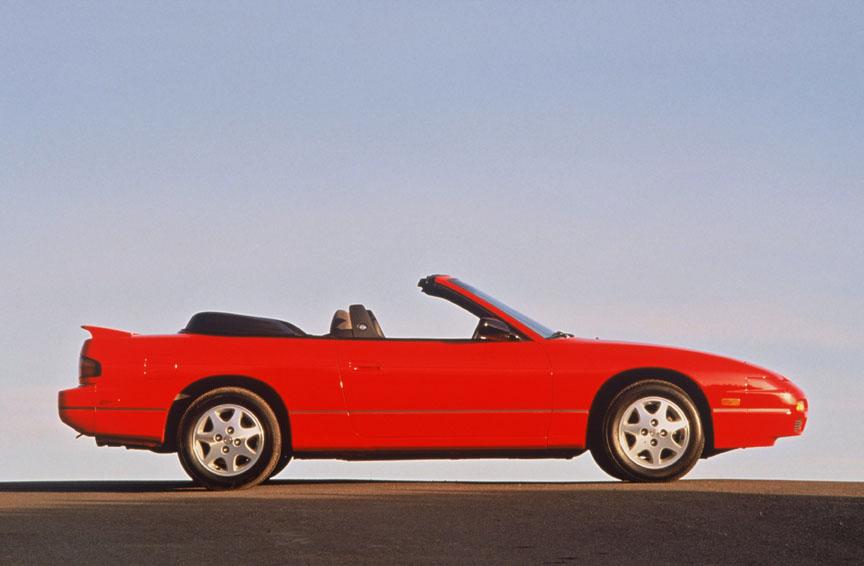 1990 Nissan 240SX convertible side