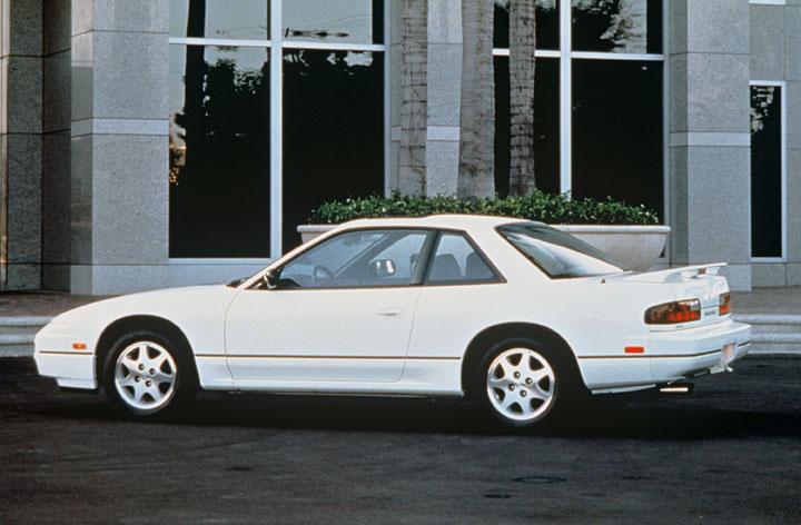 1993 Nissan 240SX side profile