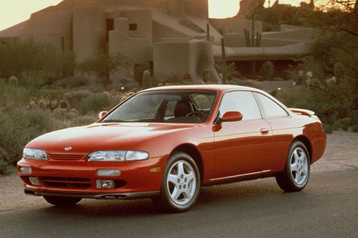 1995 Nissan 240SX Interior