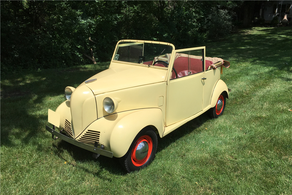 1941 Crosley Convertible 3/4 front