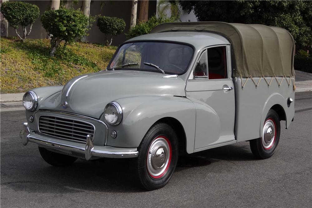 1958 Morris Minor Pickup 3/4 front