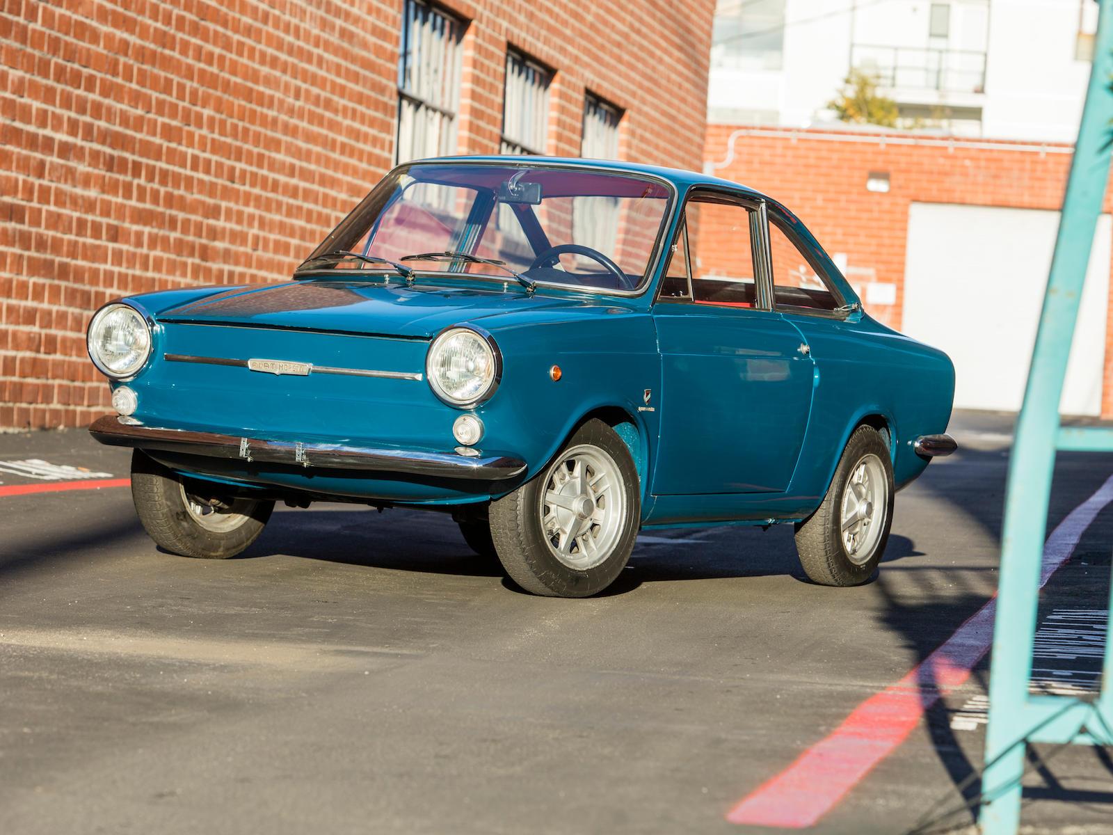 1969 Fiat Moretti 500 3/4 front