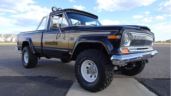 1977 Jeep J-10 Honcho 3/4 front