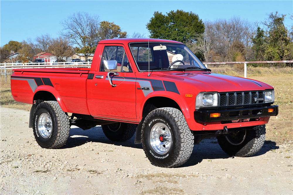 1982 Toyota Pickup 3/4 front