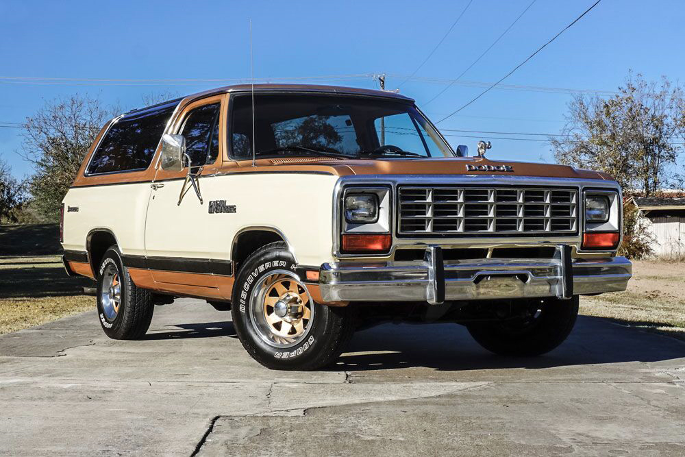 1985 Dodge Ramcharger 3/4 low