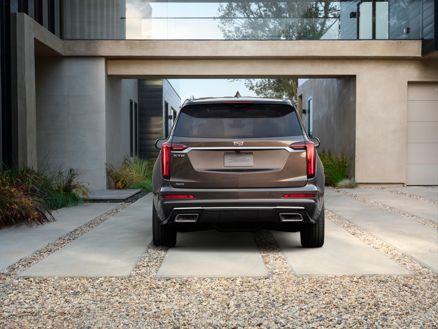 2020 Cadillac XT6 rear end